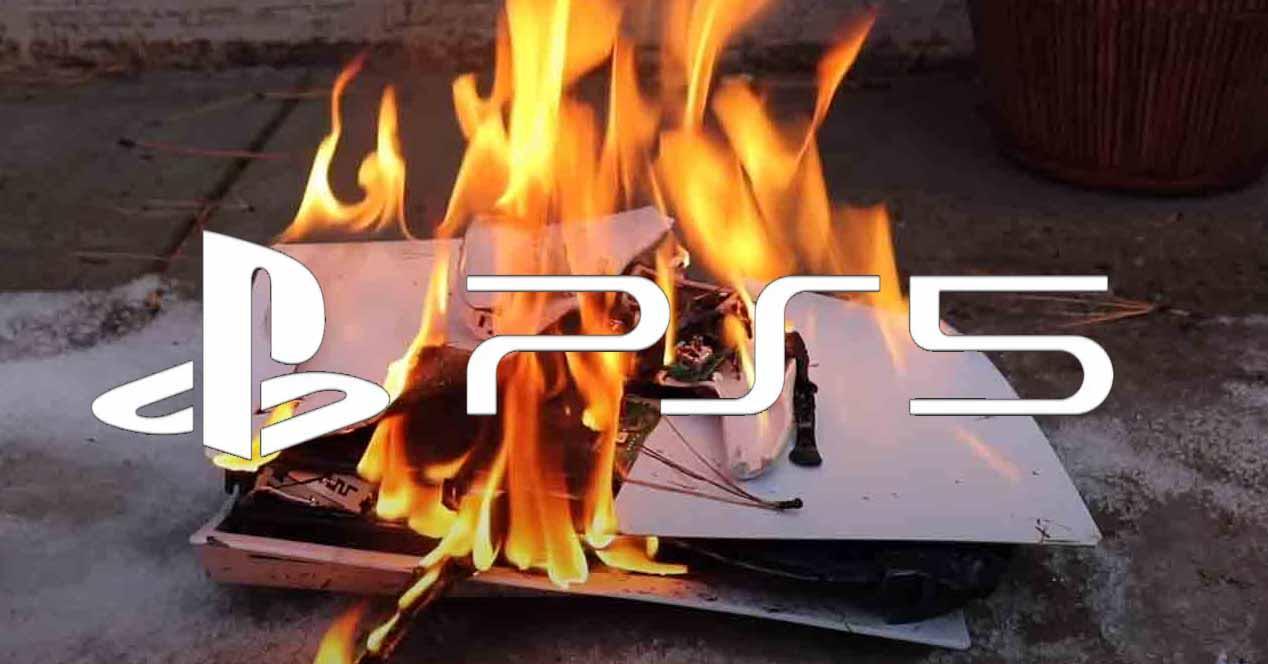 PS5 fuego