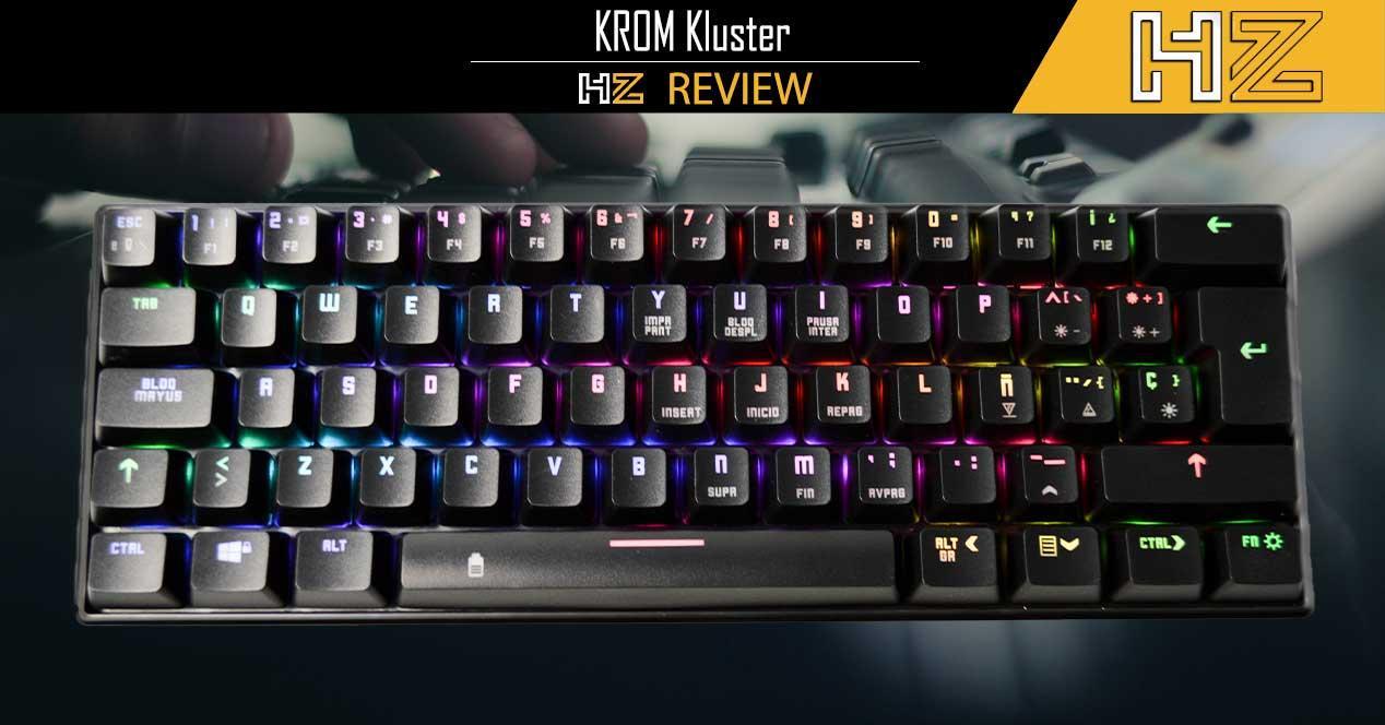Review KROM Kluster